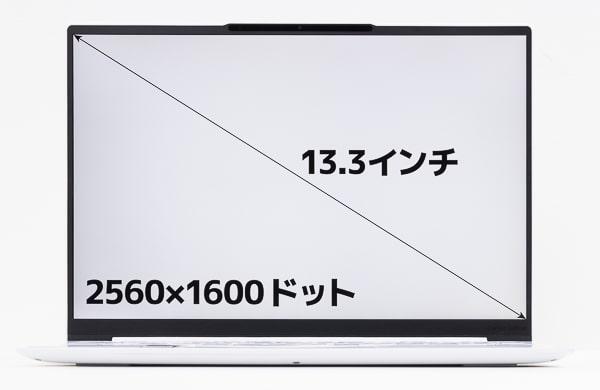 Yoga Slim 750i Carbon 画面サイズ
