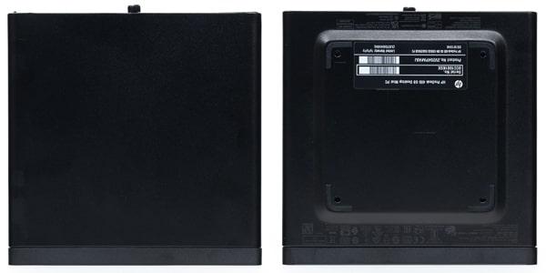 HP ProDesk 405 G6 DM 天面と底面
