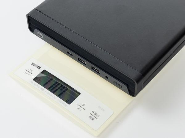 HP ProDesk 405 G6 DM 重さ