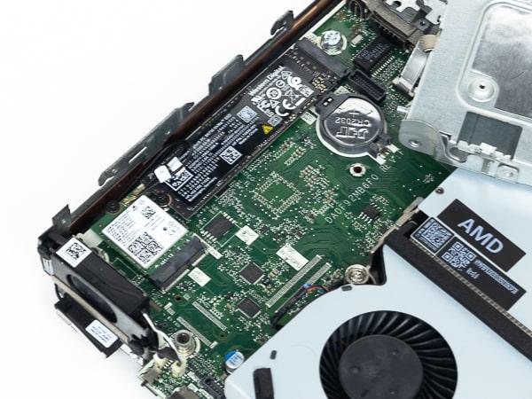 HP ProDesk 405 G6 DM M.2スロット