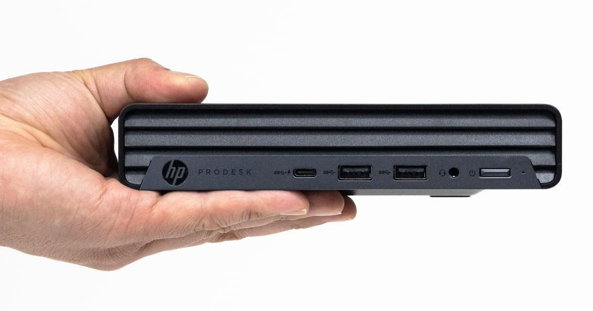 HP ProDesk 405 G6 DMレビュー