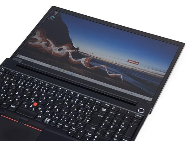 ThinkPad E15 ディスプレイ角度