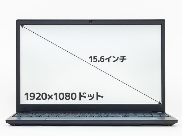 ThinkPad E15 Gen 2 画面