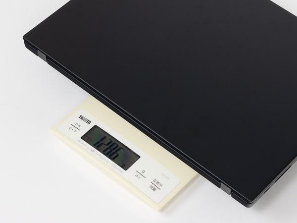 ThinkPad X13 Gen1(AMD) 重さ