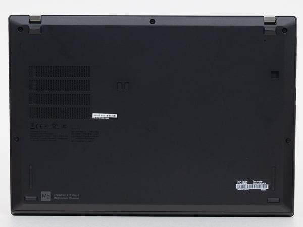 ThinkPad X13 Gen1(AMD) 底面