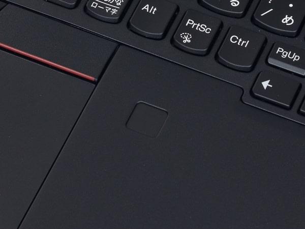 ThinkPad X13 Gen1(AMD) 指紋センサー
