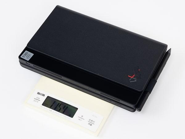 ThinkPad X1 Fold 重さ