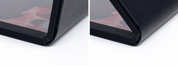 ThinkPad X1 Fold 折り曲げ