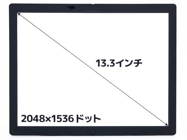 ThinkPad X1 Fold 画面サイズ