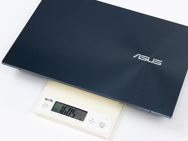 ZenBook Duo 14 UX482EG 重さ