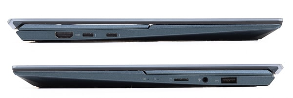 ZenBook Duo 14 UX482EG インターフェース