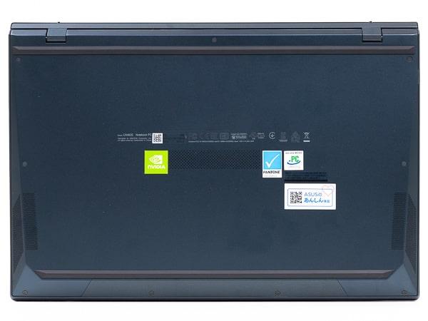 ZenBook Duo 14 UX482EG 底面部