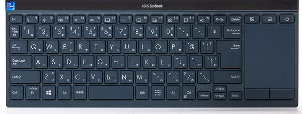 ZenBook Duo 14 UX482EG キーボード