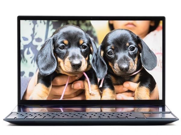 ZenBook Duo 14 UX482EG ベゼル