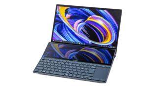ASUS ZenBook Duo 14 UX482EGレビュー:作業がはかどるデュアルディスプレイ搭載ノートPC