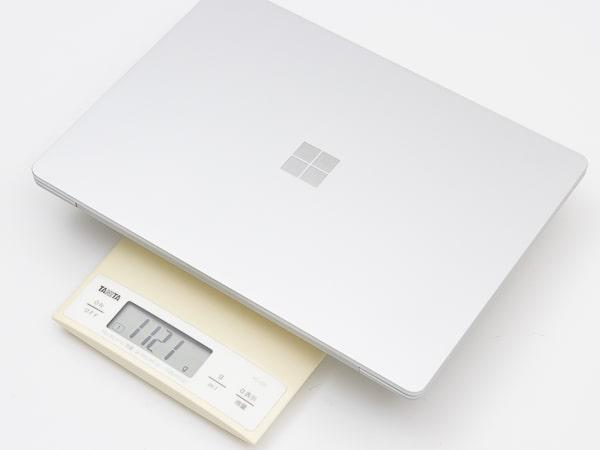 Surface Laptop Go 重さ