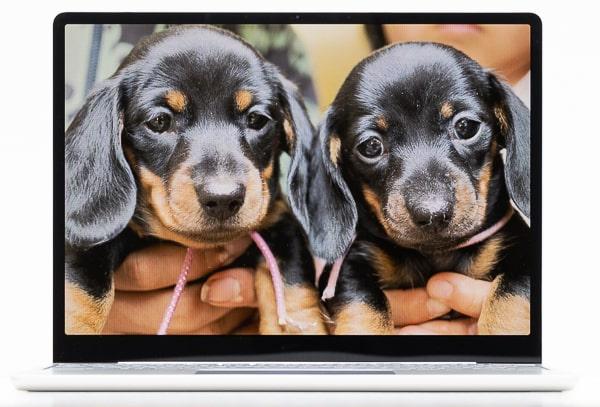 Surface Laptop Go ベゼル