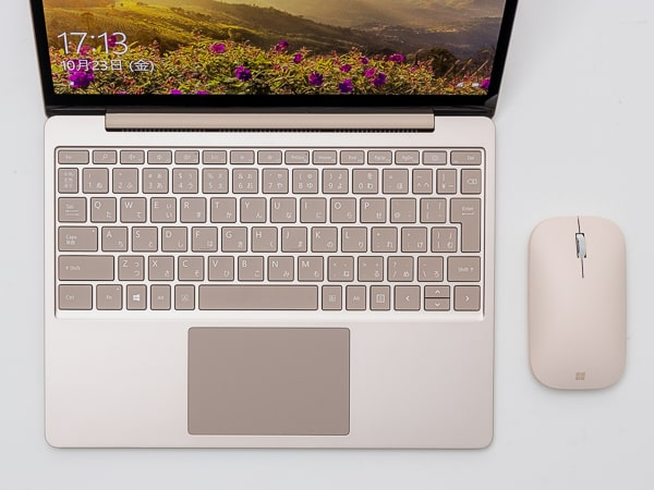 Surface Laptop Go キーボード