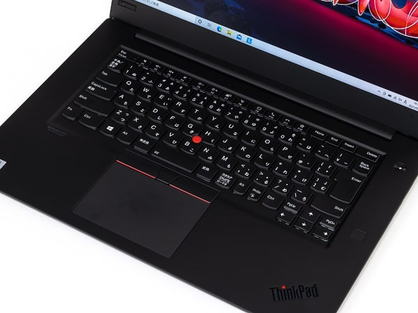 ThinkPad X1 Extreme Gen 3 パームレスト
