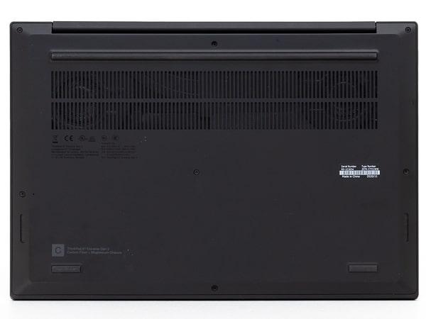 ThinkPad X1 Extreme Gen 3 底面部