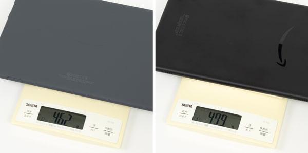 Fire HD 10 新旧モデル 重さ