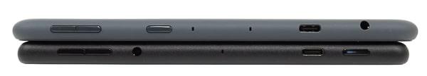 Fire HD 10 新旧モデル 側面