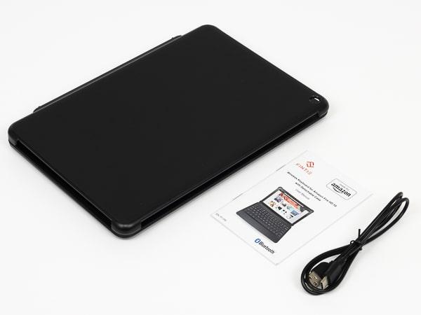 Fire HD 10 キーボード 同梱物
