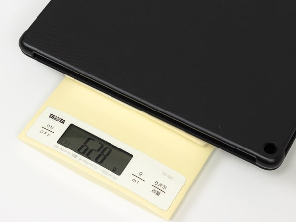 Fire HD 10 キーボード 重さ