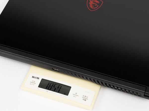 GF63 Thin 10U 重さ