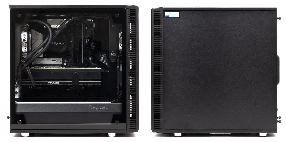 G-Master Hydro Z590-Mini 側面