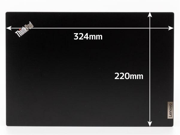 ThinkPad E14 Gen 3(AMD) サイズ