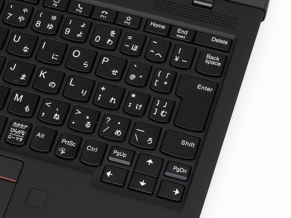 ThinkPad X1 Nano 配列