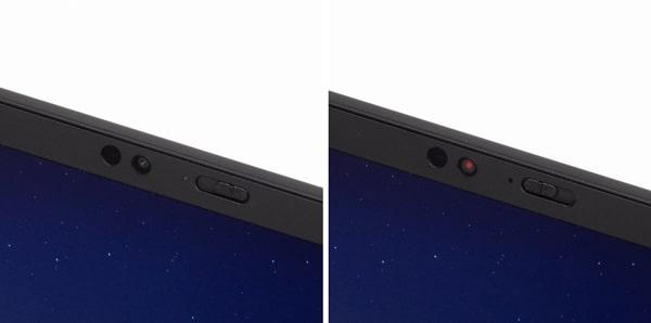 ThinkPad X1 Nano カメラ