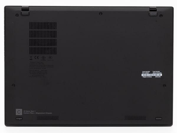 ThinkPad X1 Nano 底面