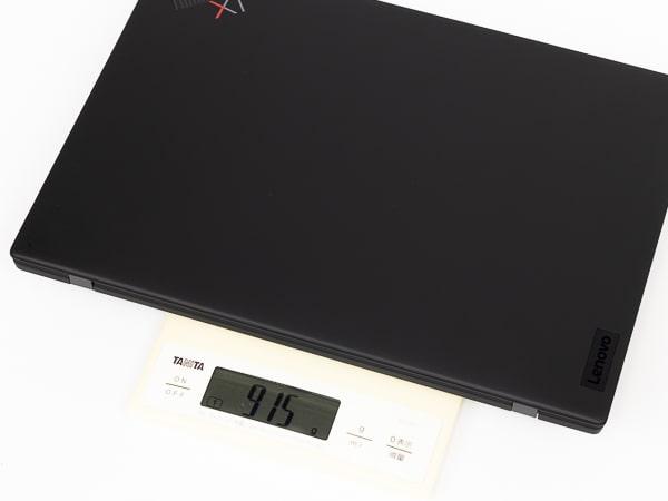 ThinkPad X1 Nano 重さ