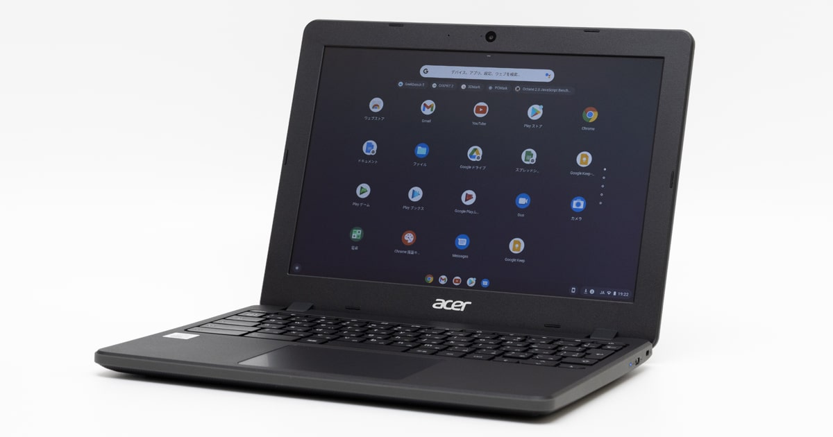 Acer Chromebook 712 C871T-A38Nレビュー