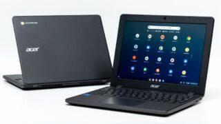 Acer Chromebook 712 C871T-A14Nレビュー:2万円台で買える頑丈12インチ