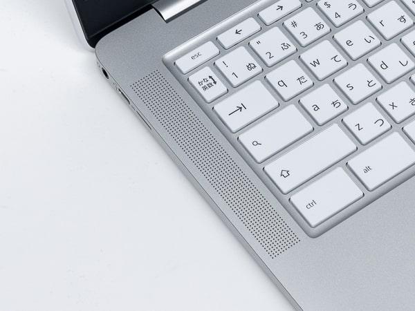 HP Chromebook 14a スピーカー