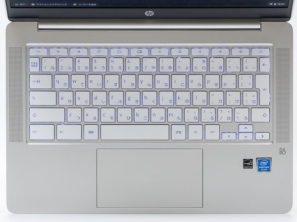 HP Chromebook 14a キーボード