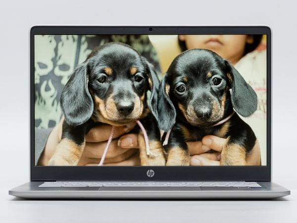 HP Chromebook 14a ベゼル