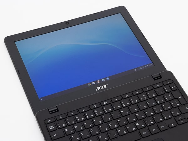 Acer Chromebook 712 C871T-A38N ディスプレイ角度