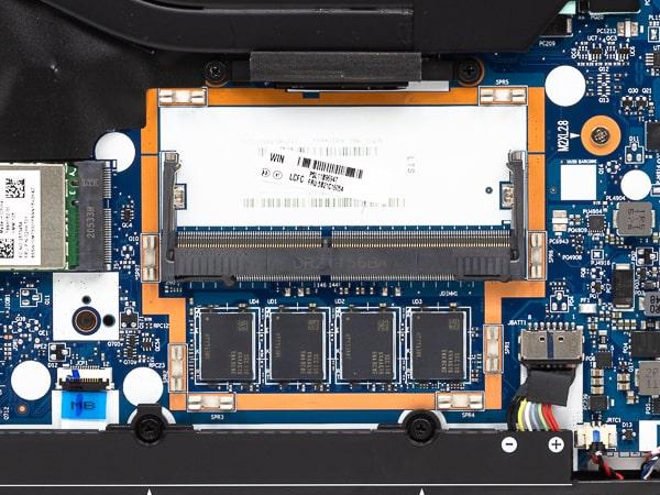 ThinkPad E14 Gen 3(AMD) メモリー増設