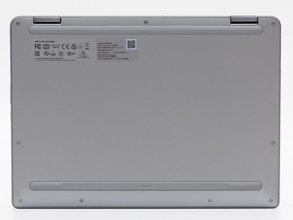 IdeaPad Flex 360 Chromebook 底面