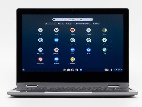 IdeaPad Flex 360 Chromebook 画面