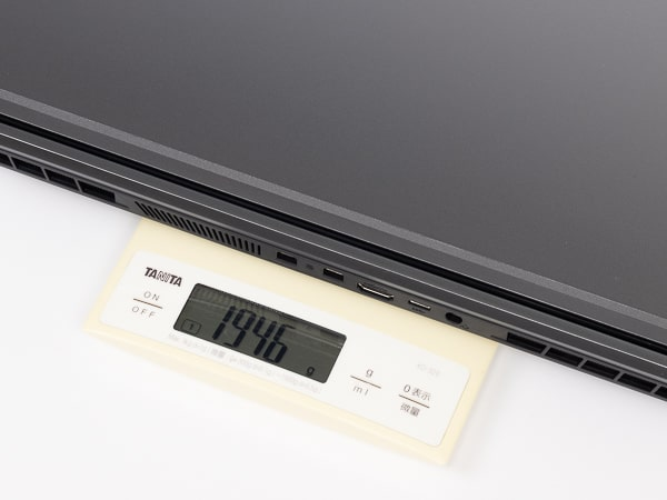 GALLERIA RL5R-G50T 重さ