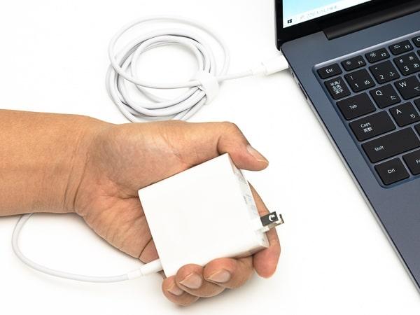 HUAWEI MateBook 14 2020 電源アダプター