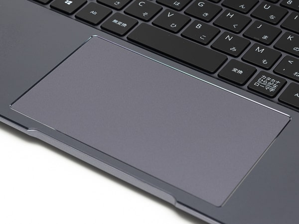 HUAWEI MateBook 14 2020 タッチパッド
