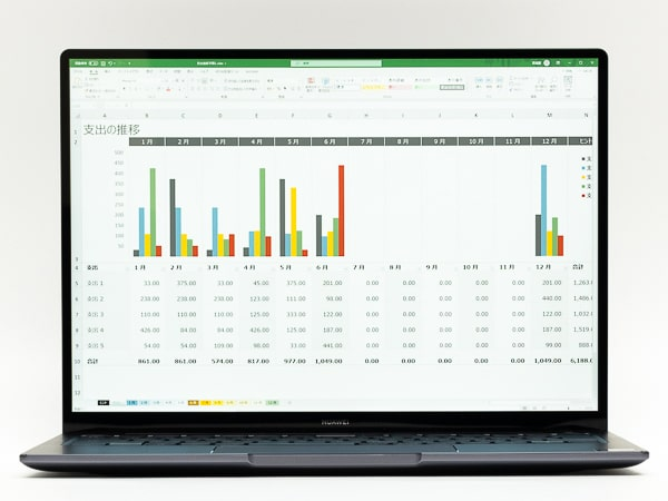 HUAWEI MateBook 14 2020 アスペクト比