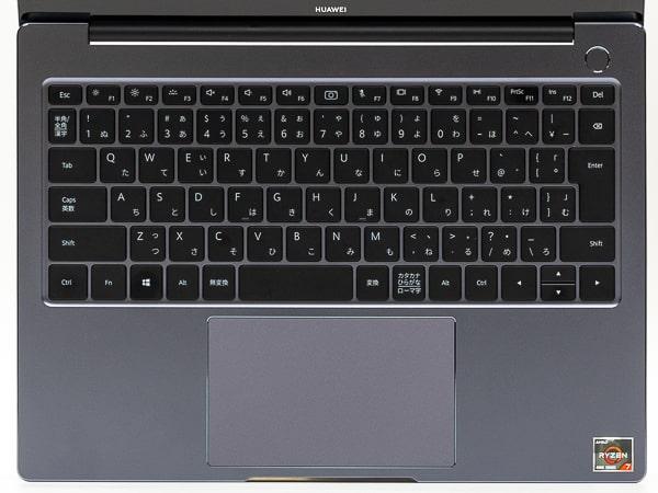 HUAWEI MateBook 14 2020 キーボード