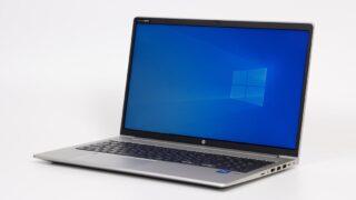 HP ProBook 450 G8レビュー:スッキリとしたデザインのビジネス向け15.6インチノートPC